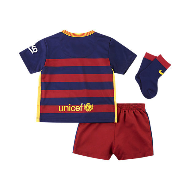 2015/16 FC BARCELONA STADIUM HOME INFANT KIDS' SOCCER KIT