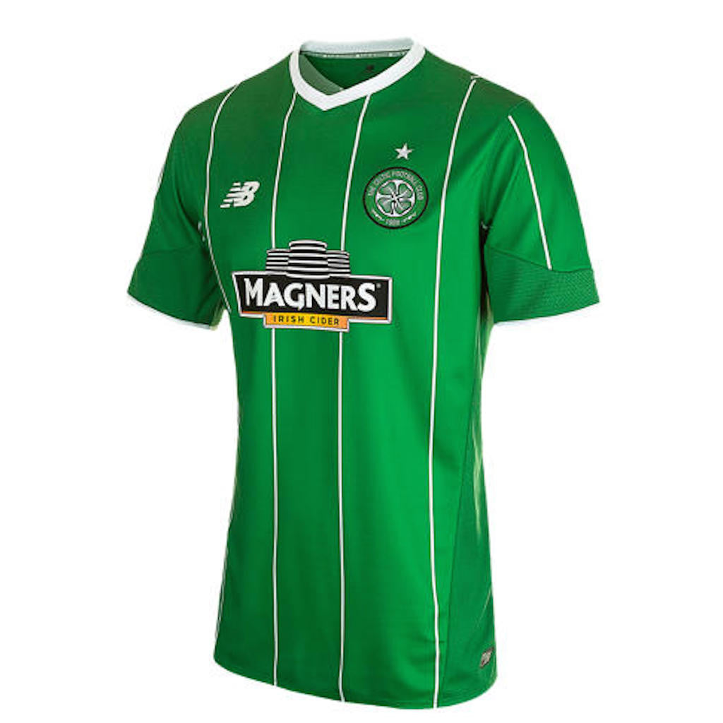 2015/16 Celtic SS Away Men's Jersey With Sponsor