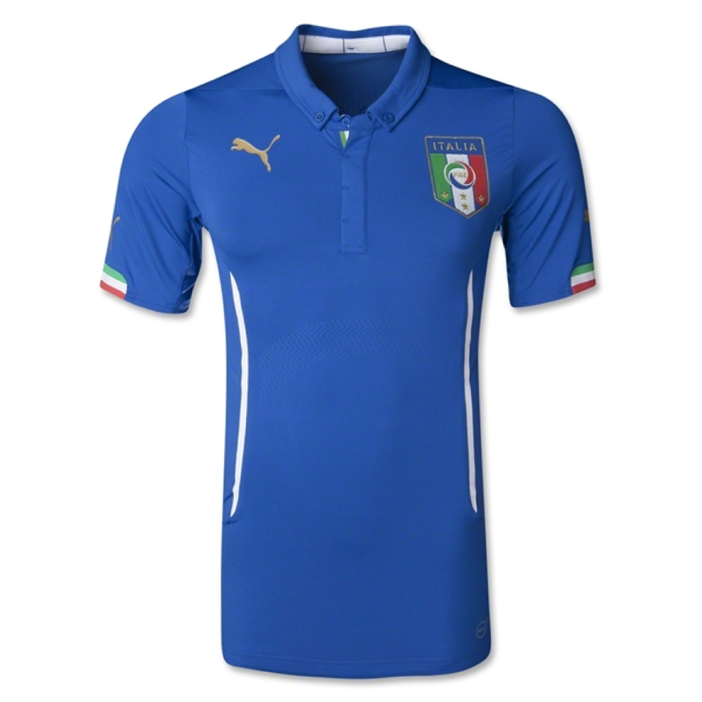 WC2014 FIGC ITALIA ACTV HOME MATCH JERSEY