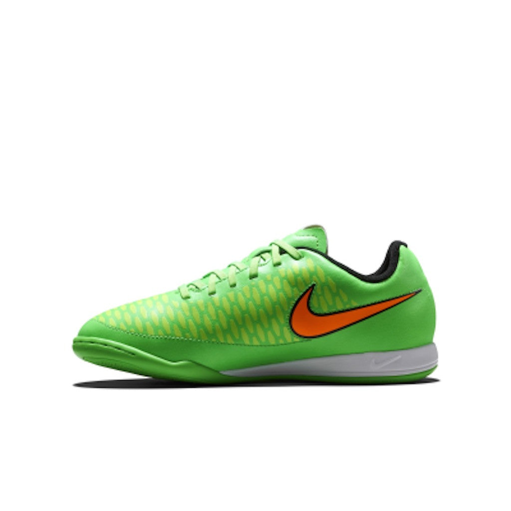 JR. MAGISTA ONDA IC KIDS' INDOOR-COMPETITION - Poison Green/Flash Lime/Black/Total Orange