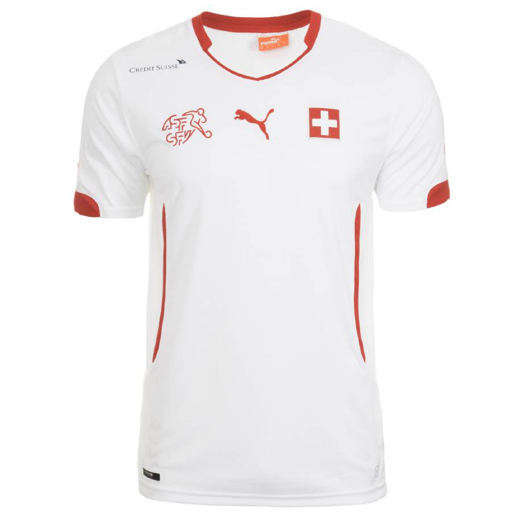 WC2014 SUISSE AWAY MEN'S REPLICA JERSEY
