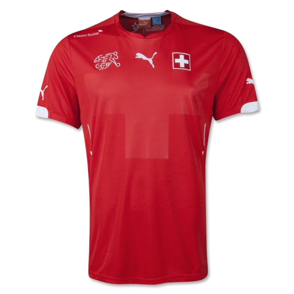 WC2014 SUISSE HOME MEN'S REPLICA JERSEY - Shaqiri 23