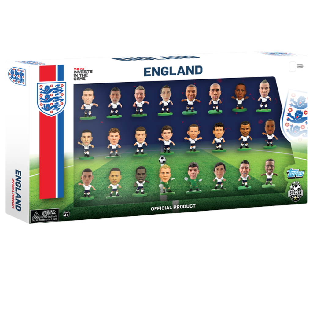 Official English National Team Figures/24 Player Team Pack (version 2)