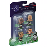 France 4 player blister pack A /Figures