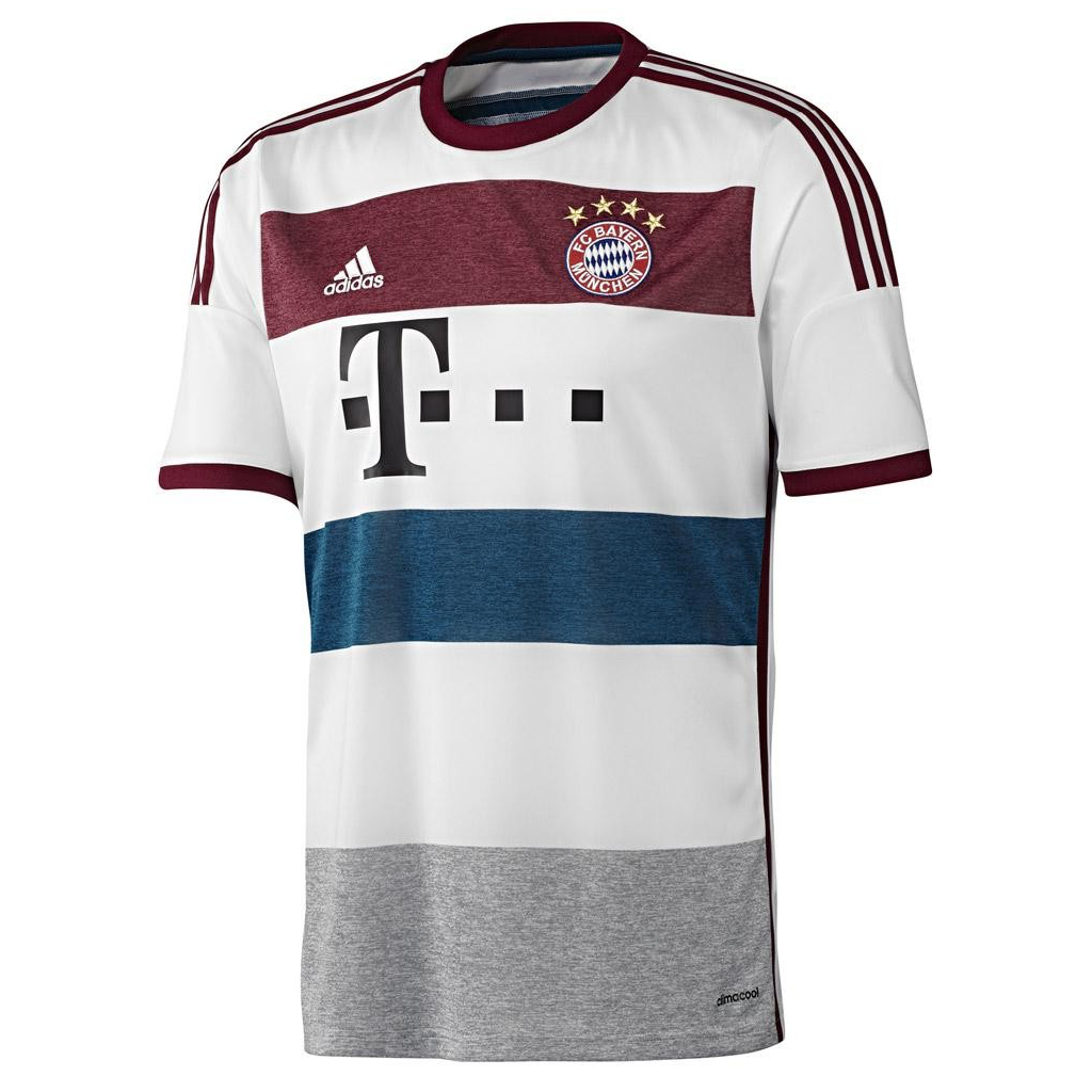 2014/15 FC Bayern SS Away Men's Replica Jersey - LEWANDOWSKI 9