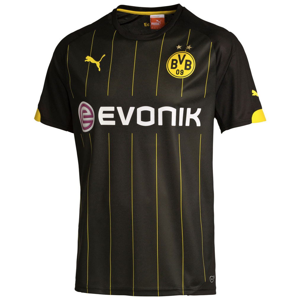 2014/15 BVB AWAY MEN'S REPLICA JERSEY WITH SPONSOR