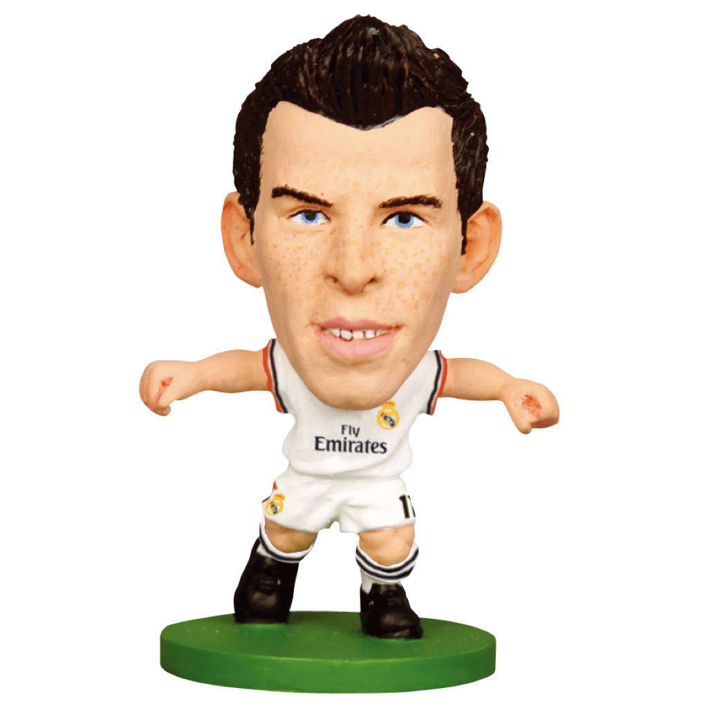 Official Real Madrid Figure/Gareth Bale - 2014 Home Kit