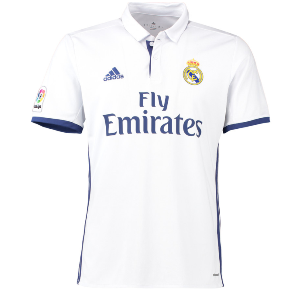 2016/17 REAL MADRID SS HOME MEN'S REPLICA JERSEY - BALE 11