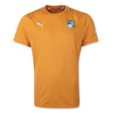 WC2014 IVORY COAST HOME MEN'S REPLICA JERSEY - Wilfired 12