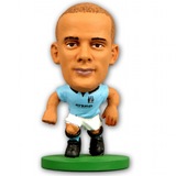 Official Manchester City Figure/Vincent Kompany 2014 Home Kit