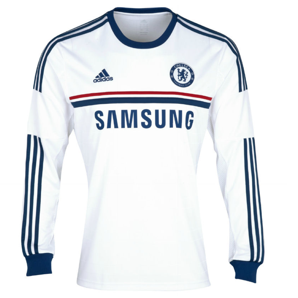 2013/14 Chelsea FC LS Away Men's Replica Jersey