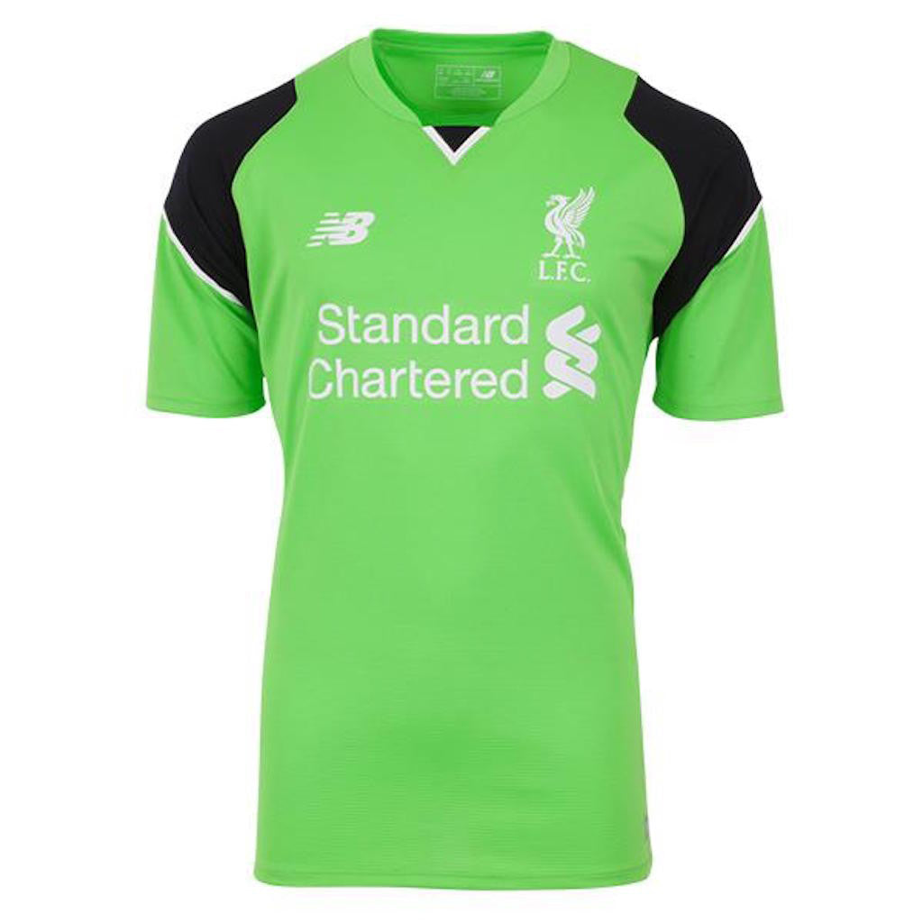 2016/17 LIVERPOOL FC SS HOME MEN'S GOALKEEPER JERSEY - MIGNOLET 22