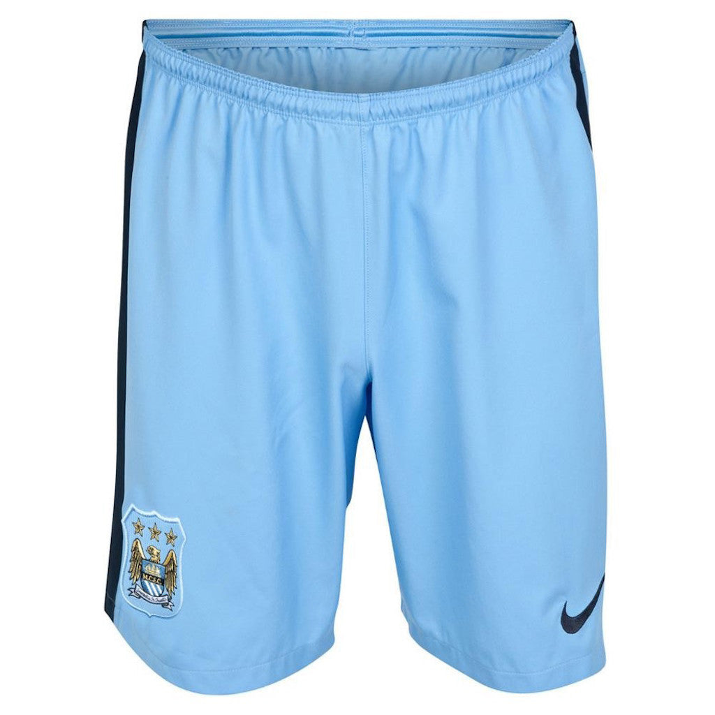 2014/15 MANCHESTER CITY FC HOME MEN'S STADIUM SHORTS