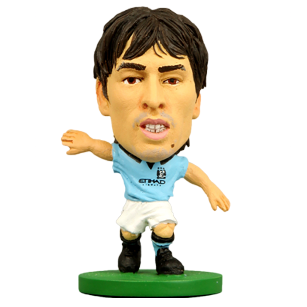 Official Manchester City Figure/David Silva 2014 Home Kit
