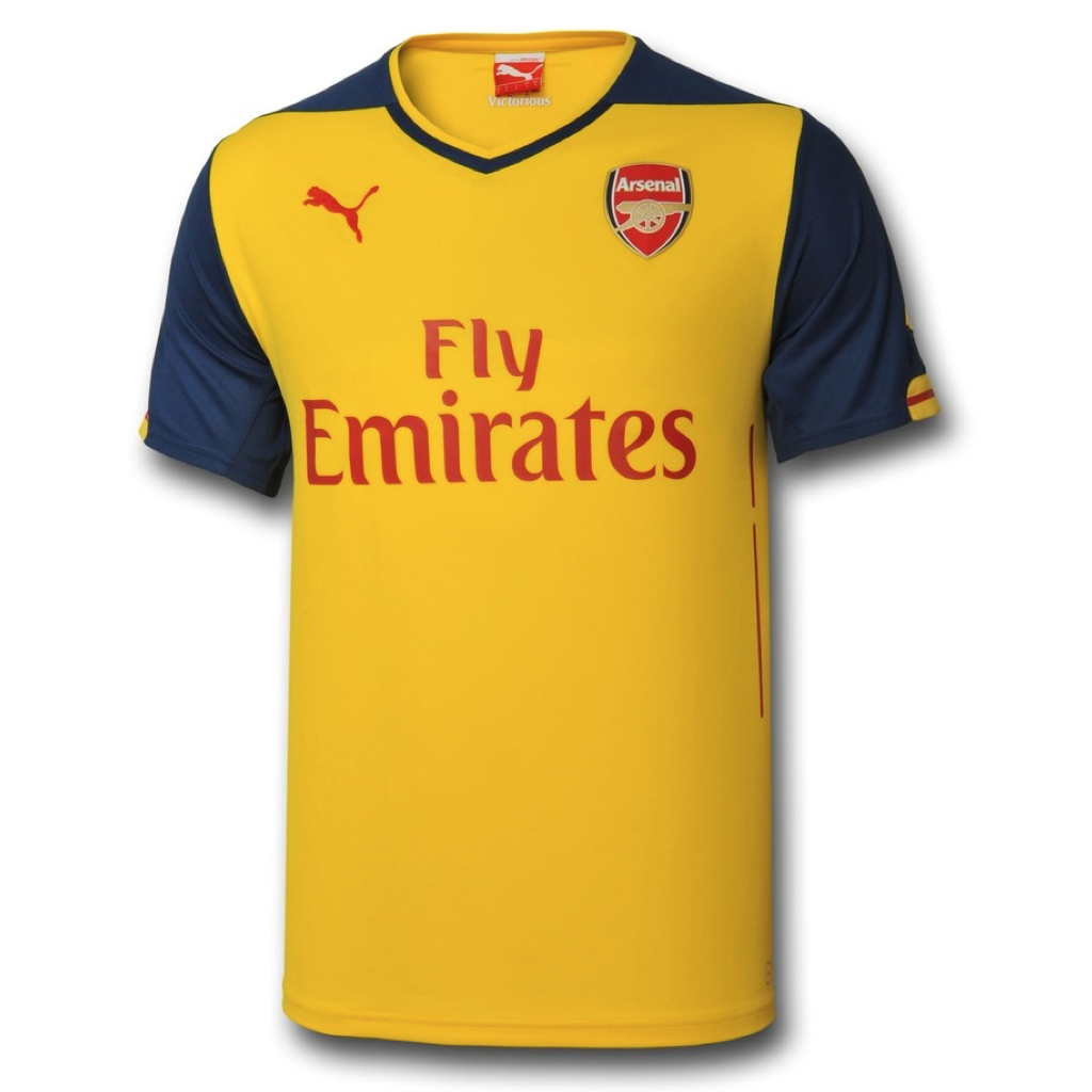 2014/15 ARSENAL FC SS AWAY BOY'S REPLICA JERSEY