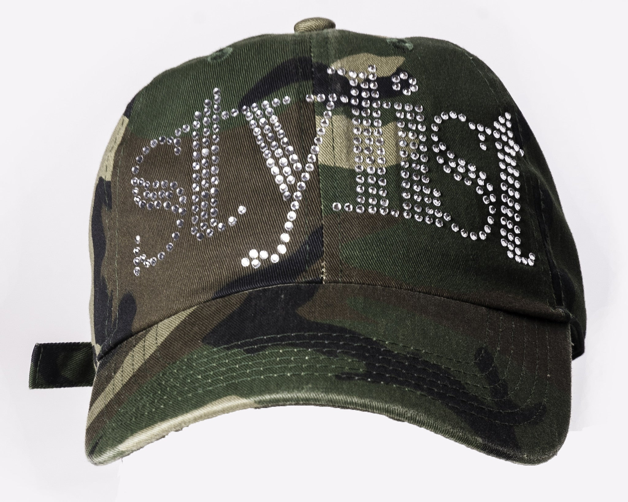 CAMO BLING STYLIST BASEBALL CAP