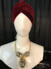 Large Stone Glam Necklace