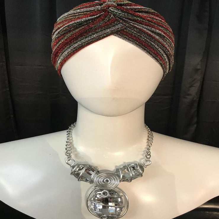 Multi-Color Sparkle Turban