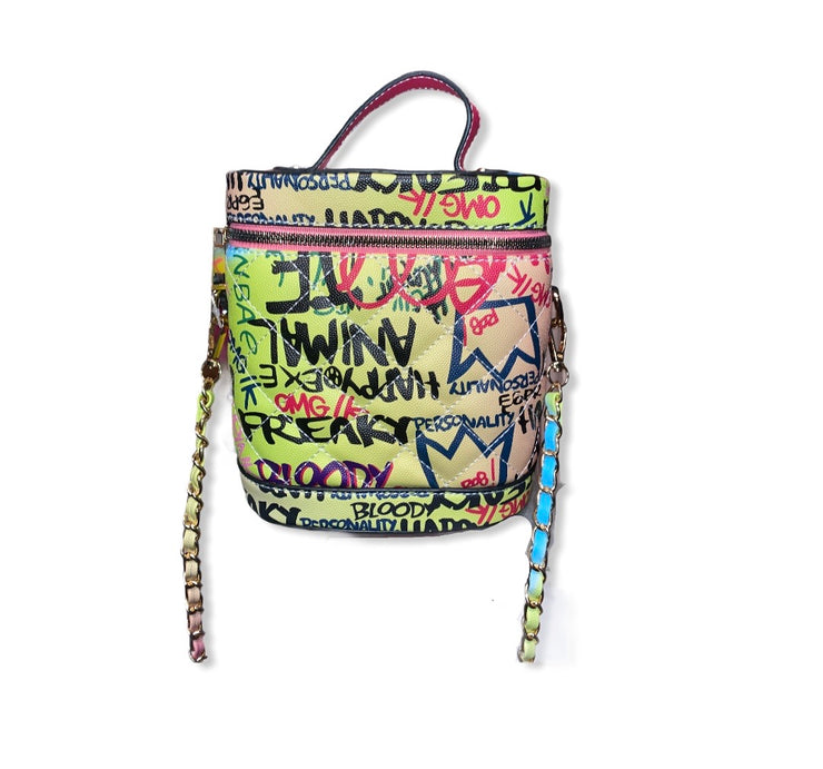 Graffiti Purse Crossbody