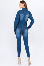 Michelle Denim Jumpsuit