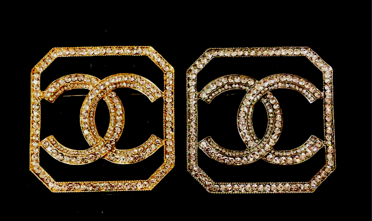 Bling Brooch Square