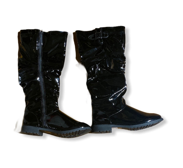 Patent Leather Long Boot