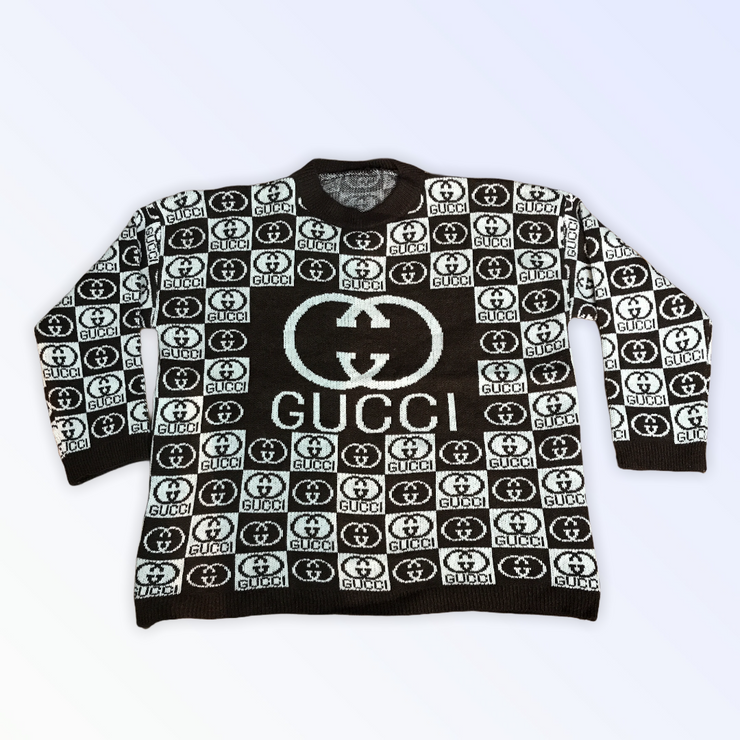 GG BLOCK PRINT SWEATER