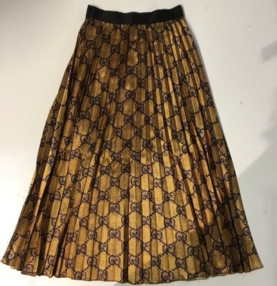 Brown/Gold Skirt