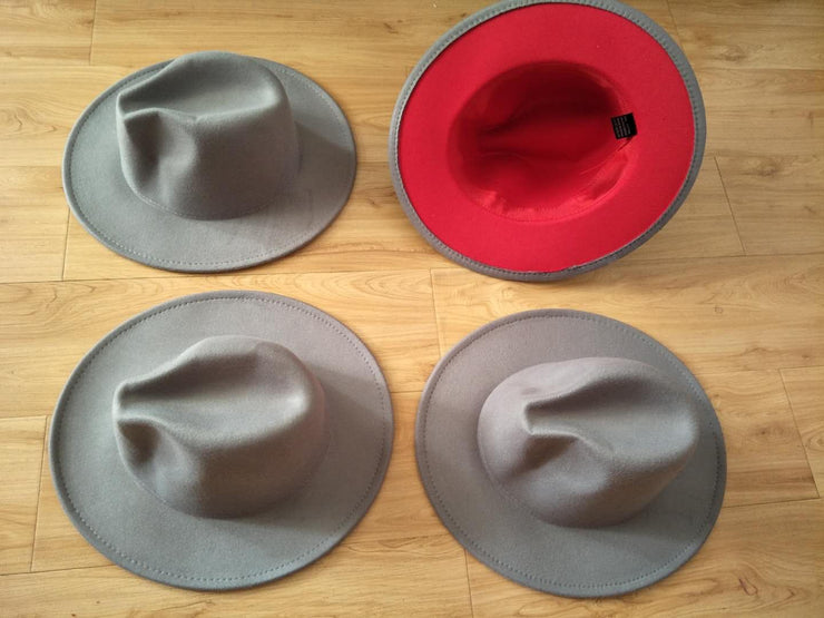 Two-Toned Fedora Hat