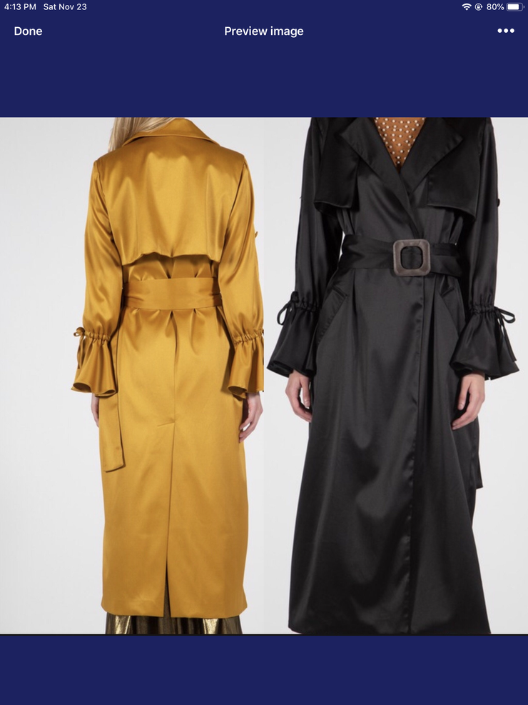 Katrina Trench Coat