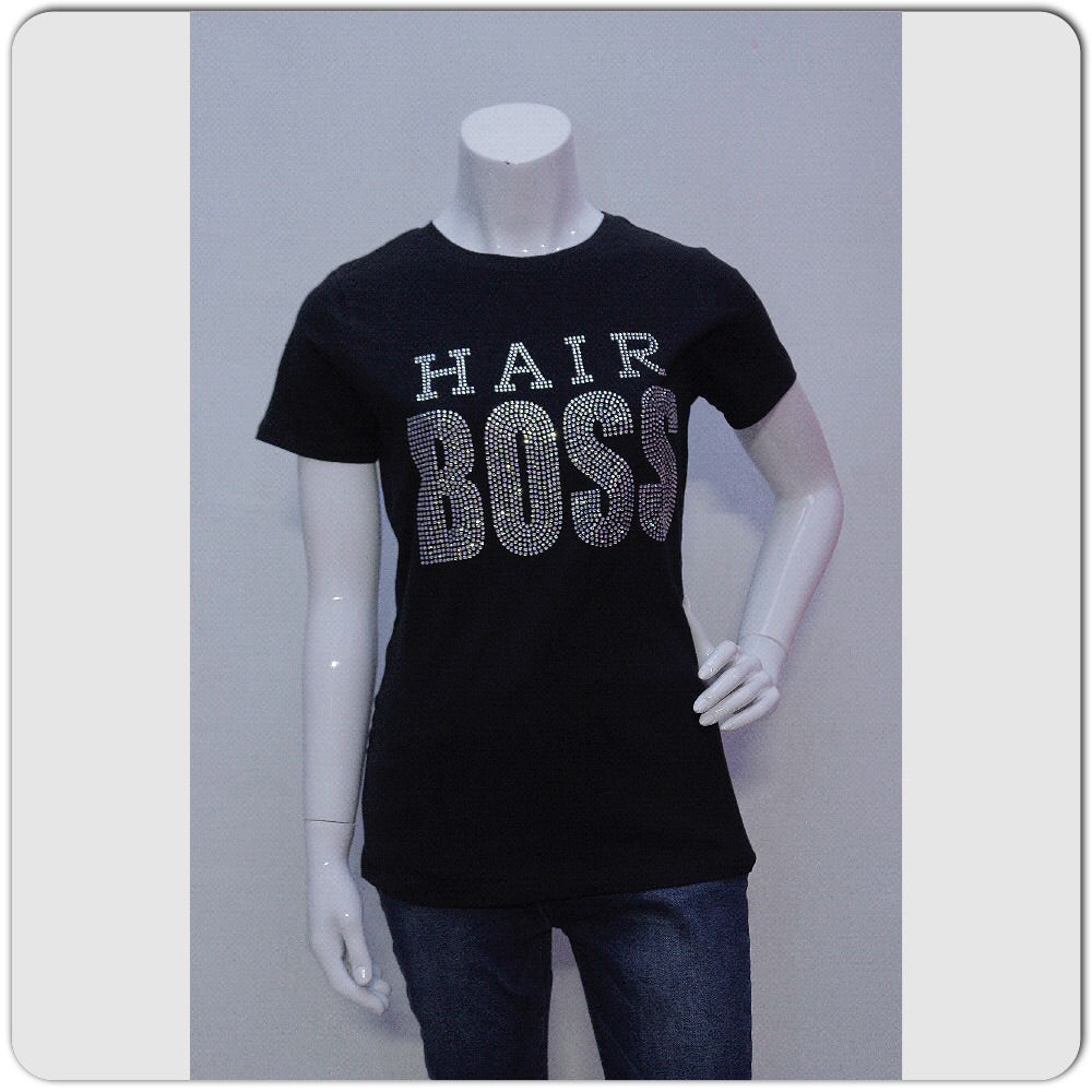 Hair Boss Stylist Glam Tee