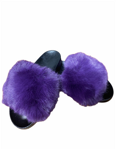 Purple Fur Slides