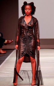 Liquid Leather Dress