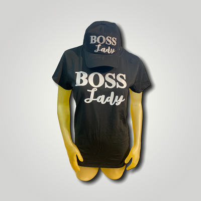 Reflector Boss Lady Tee and Hat Set