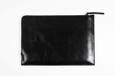 SLIM ZIP MACBOOK SLEEVE, black