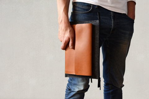 MacBook 12inch leather case