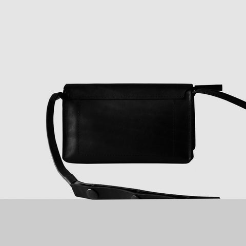 SMALL LEATHER CROSS-BODY BAG