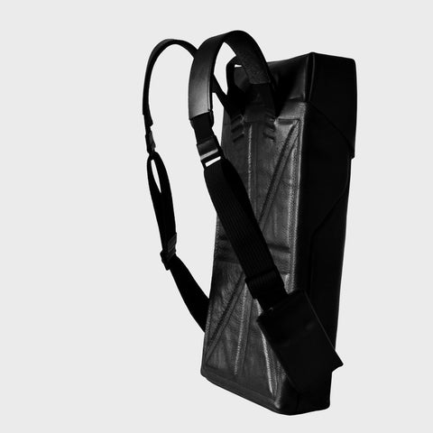 leather backpack modern