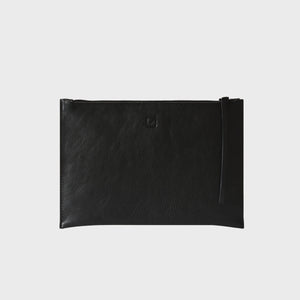 MEDIUM CLUTCH, black