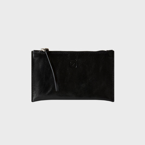 SMALL CLUTCH, glossy black