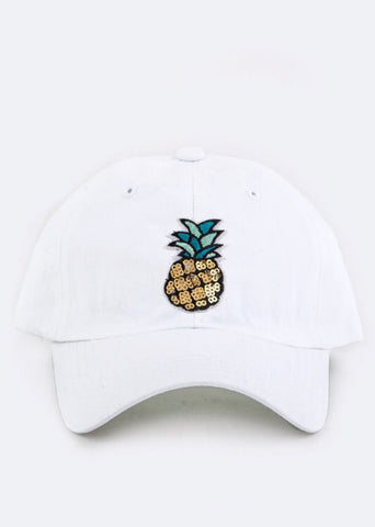 Pineapple Kids Cap