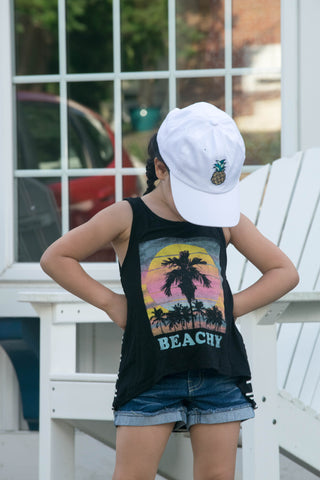 Beachy Striped tank