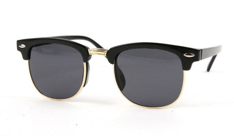 Children's Clubmaster Sunglasses - Black