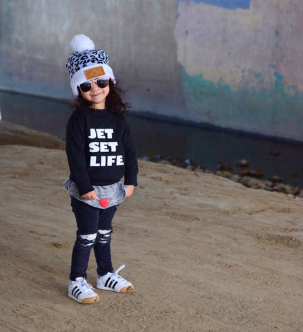 Jet Set Life Sweatshirt
