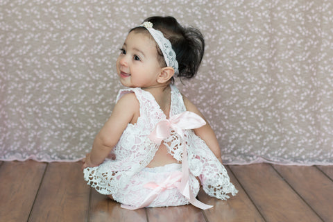 Baby Doll Lace Outfit