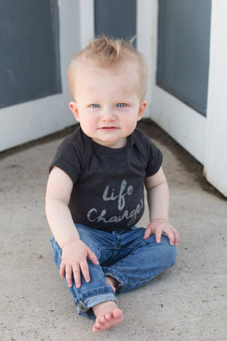 Life Changer Onesie - Dark Gray