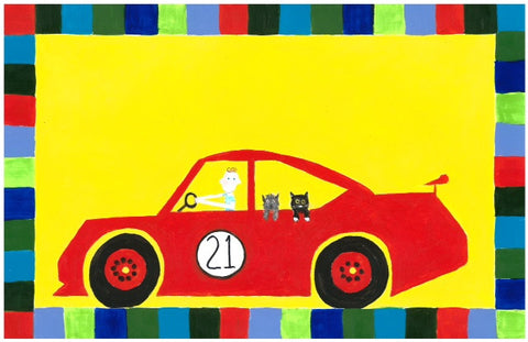 Red Car Placemat