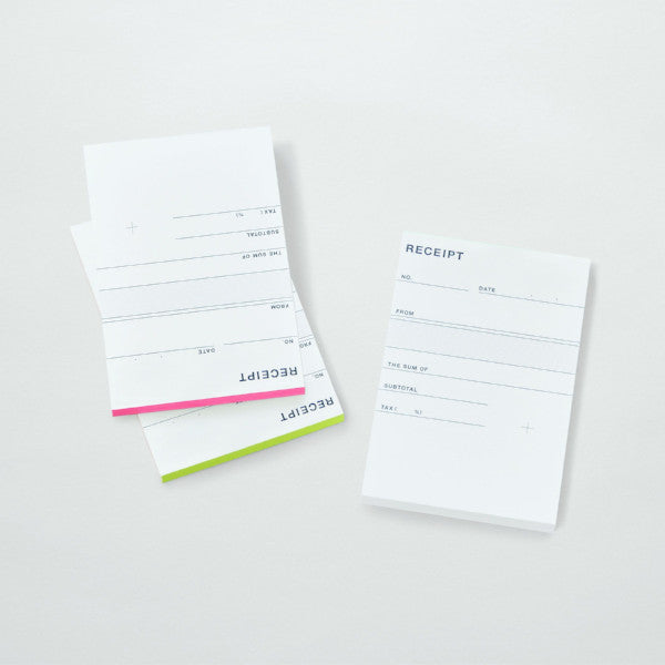 Receipt Pad by Papier Labo