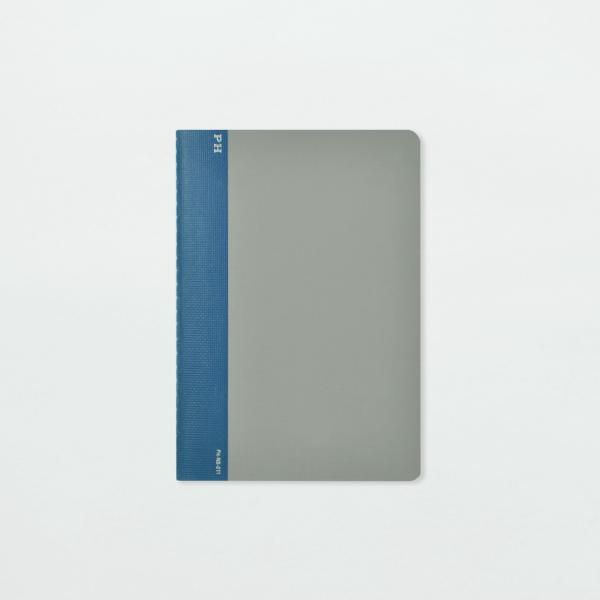 Notebook (Grey & Blue) by Papier Labo