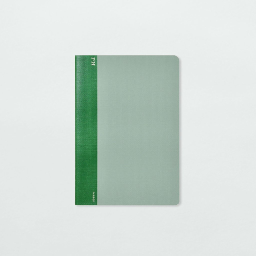 Notebook (Green & Green) by Papier Labo